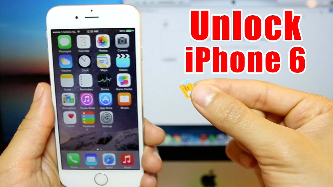 Unlock your iPhone 6 Plus